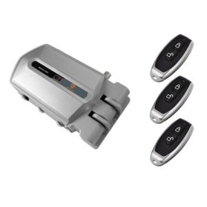 Golden Shield Alarm 95 dB con 3 Mandos Color Plata Nuevo Modelo