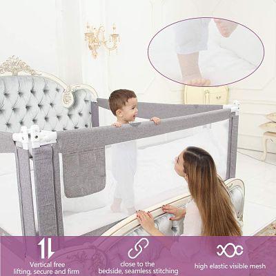 Productos de Seguridad en el Hogar para Niños barandilla de cama para niños_opt