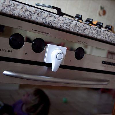 Productos de Seguridad en el Hogar para Niños sistema de bloqueo de puerta de horno para niños_opt