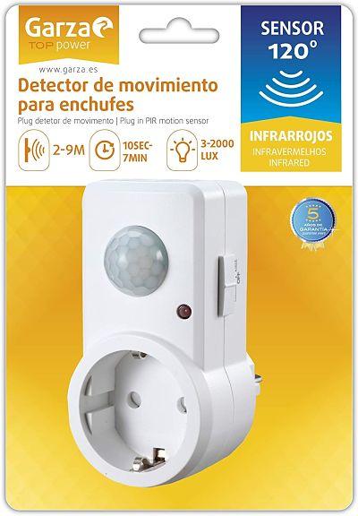 Detector de Movimiento Infrarrojos para Enchufes 120