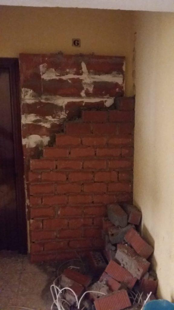muro contra okupas