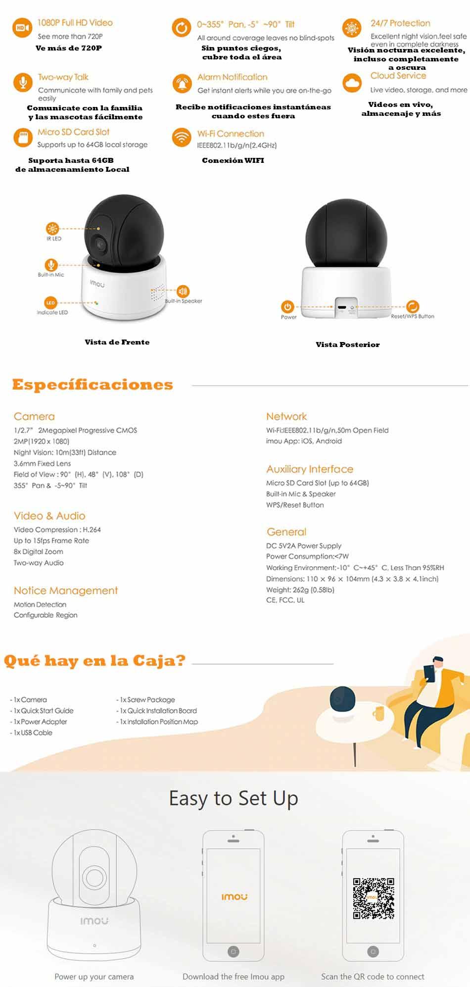 Mejor cámara de vigilancia en Madrid